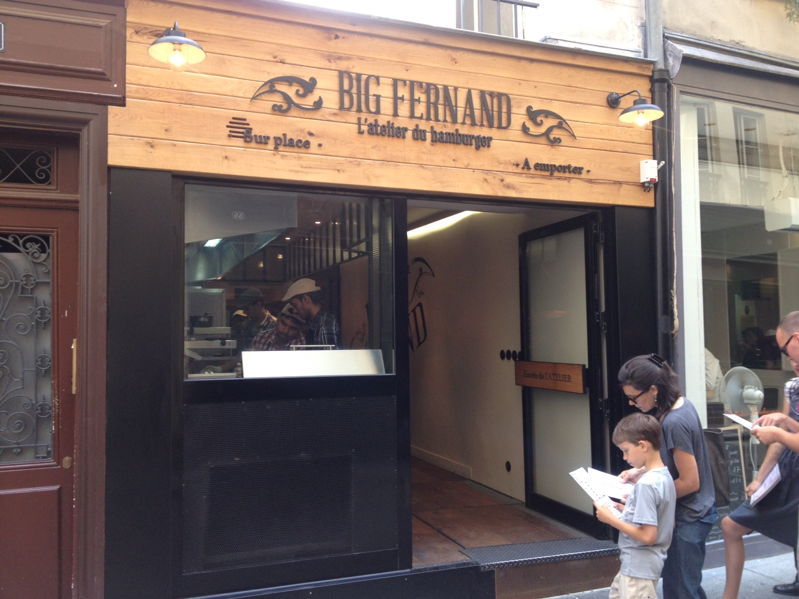 Big Fernand à Paris 02