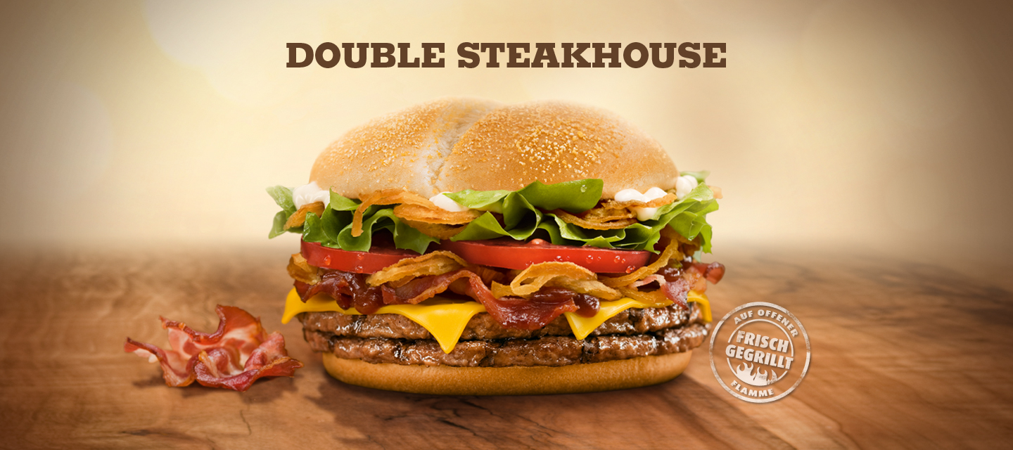 Double Steak House Burger King