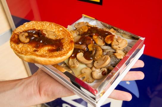 Burger luxe mac Donald's
