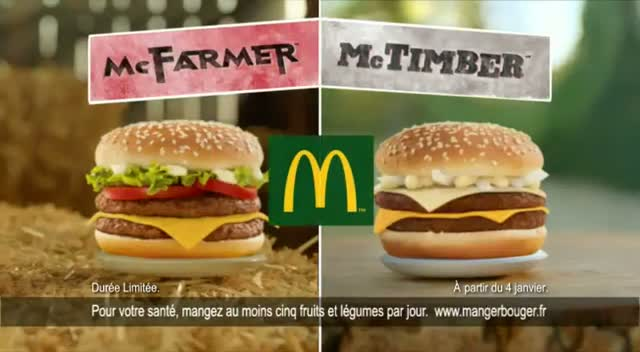 Mc Timber Mc Donald's