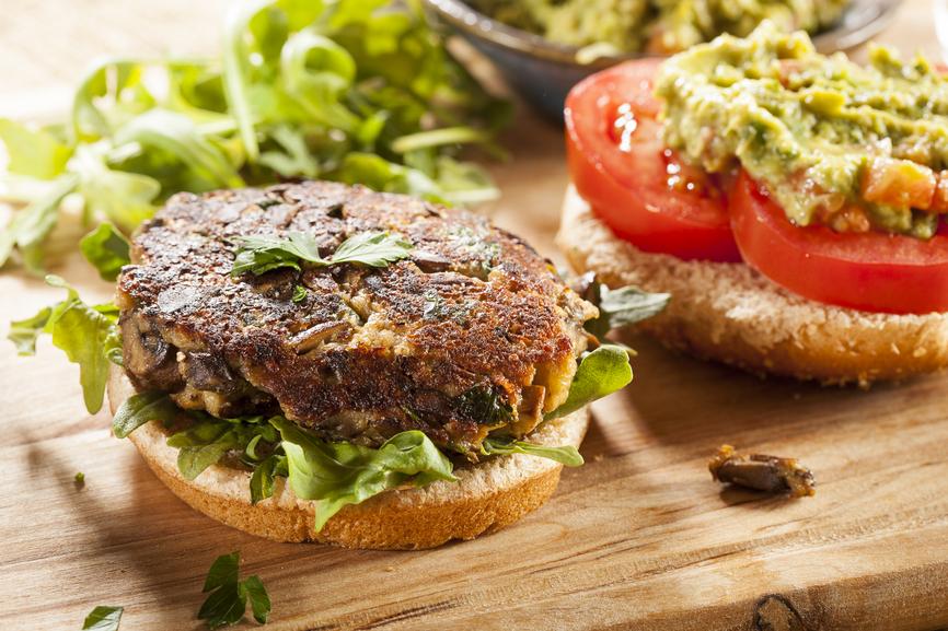 Burger végétarien - recette maison