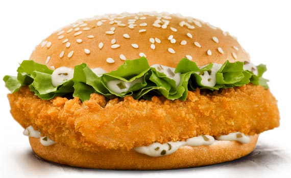 Burger king poisson