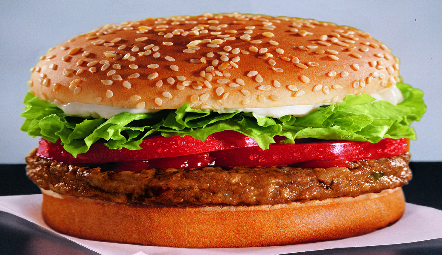 Burger vegetarien burger king