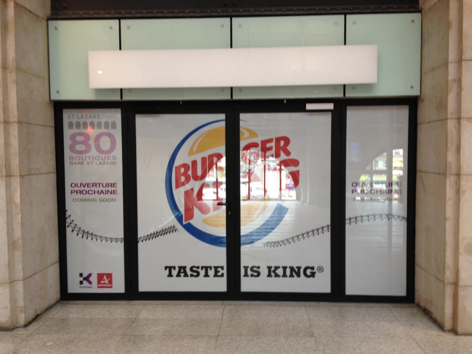 Burger King Paris adresse