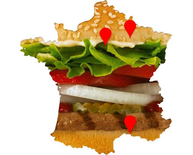 Burger King près de Paris