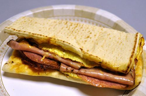 Sandwich oeufs Subway