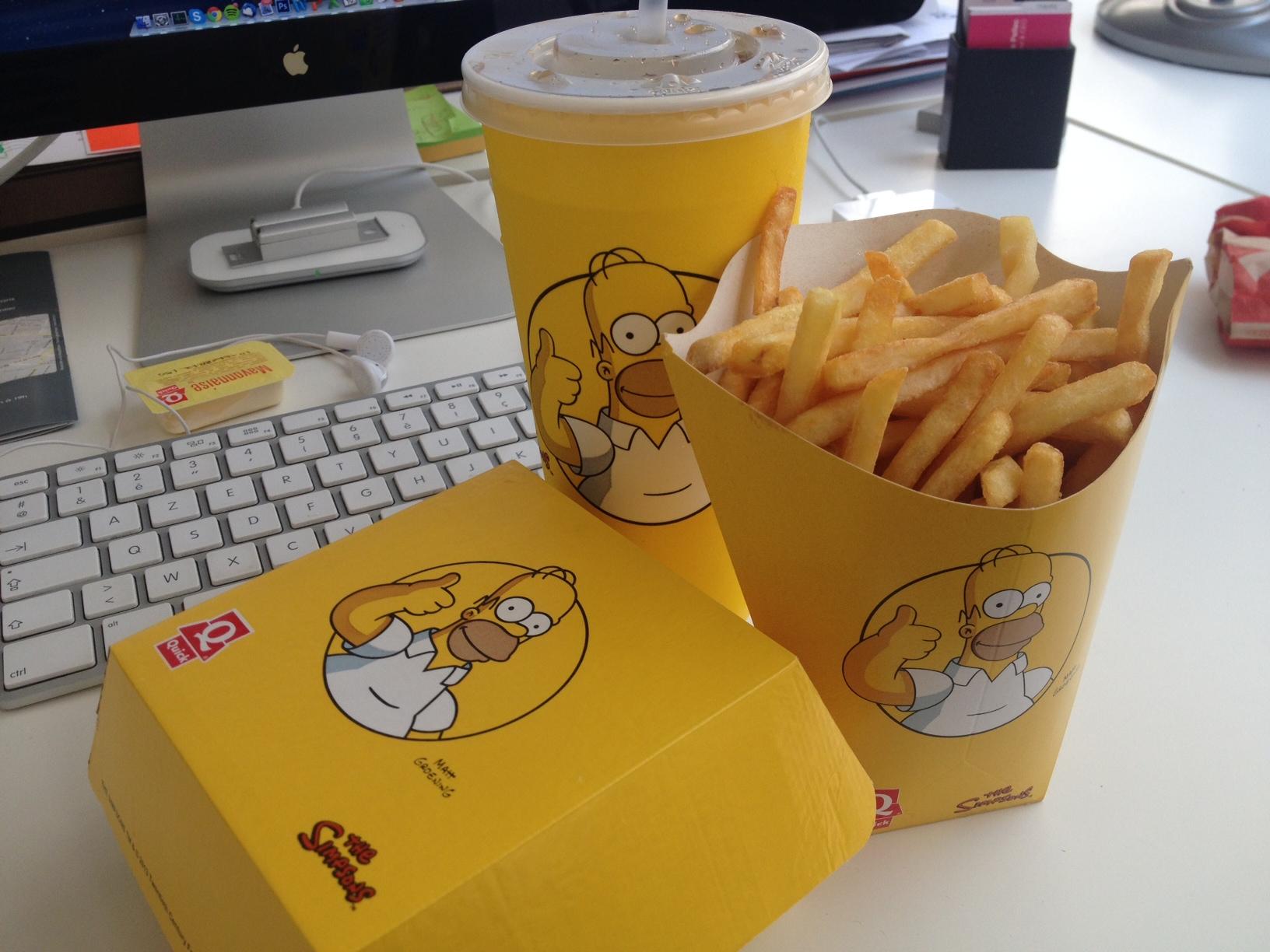 Homer burger Quick