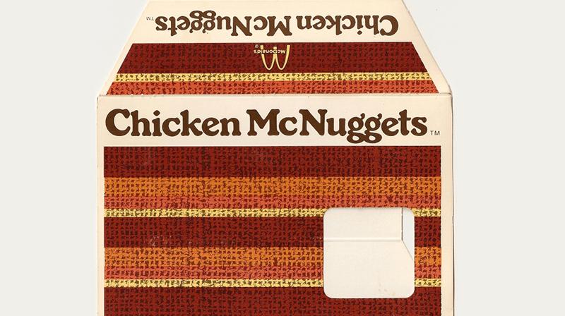Packaging Mc DOnalds