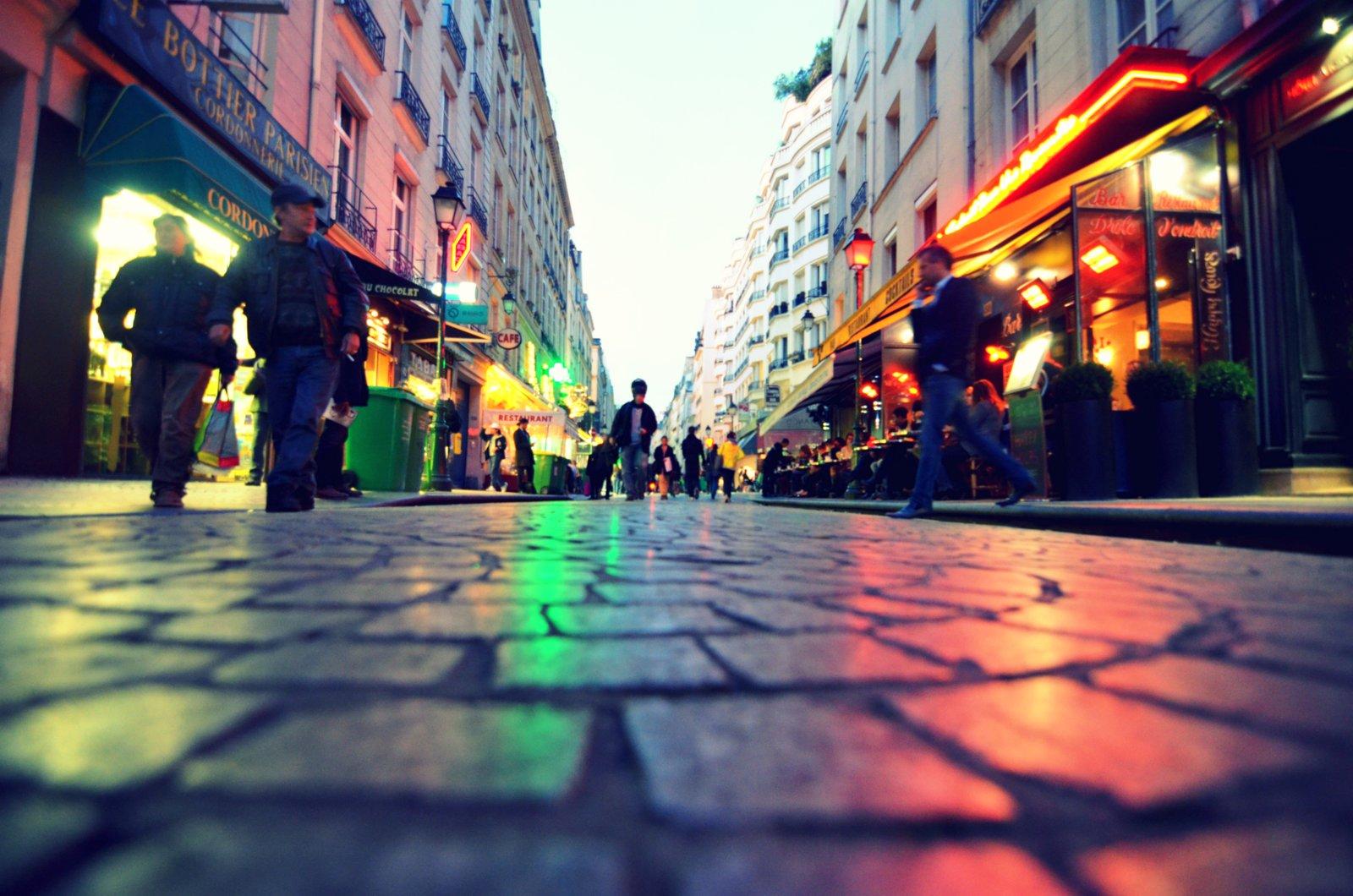 Mc Donald's rue Montorgueil