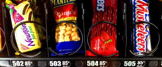 Machines automatiques calories