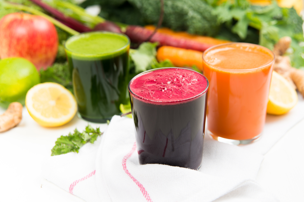 Juice Cleanse - jus de fruits et de légumes