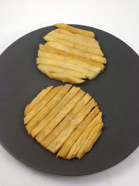 Burger bun frites