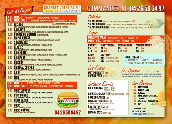 Burger Food - Valence