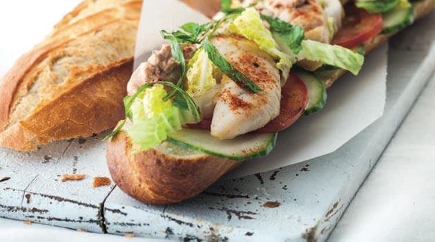 Sandwich Class Croute