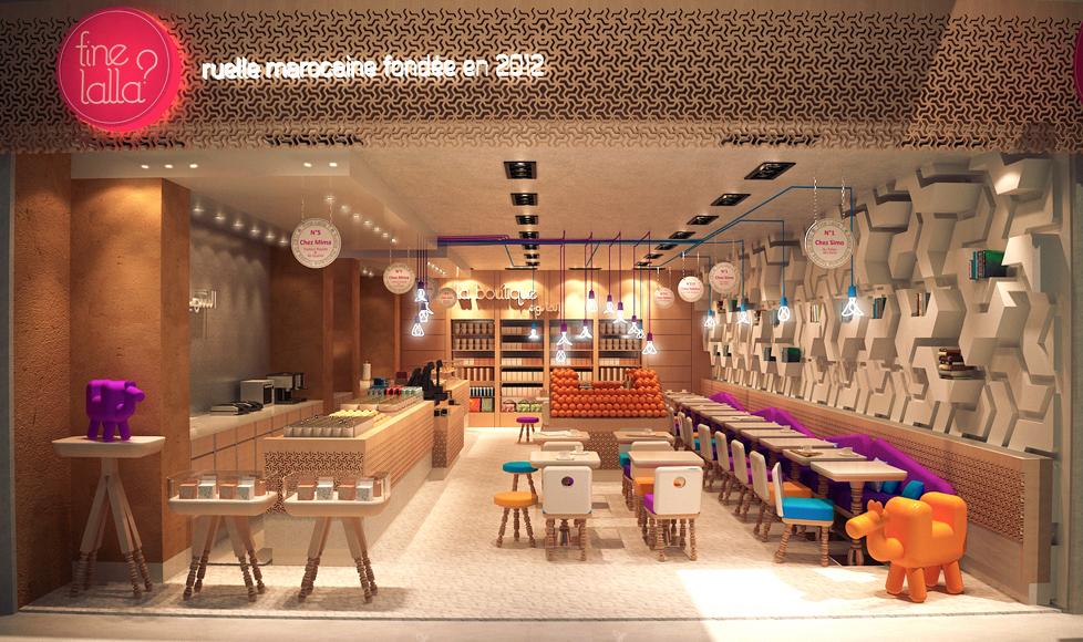 Fine Lala Paris - fast food marocain