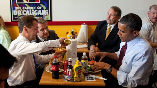 Barack Obama Fast Food