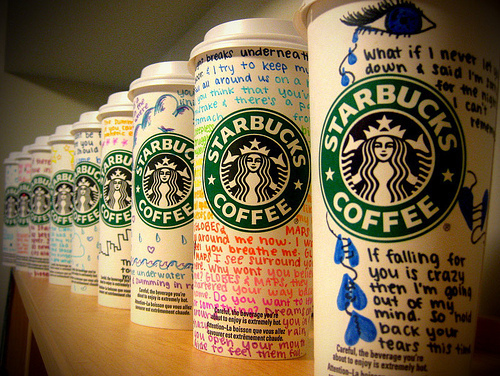 Starbucks gobelet