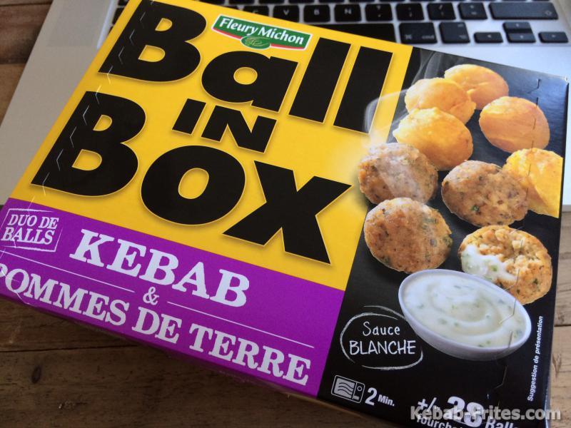 Ball in box kebab Fleury Michon