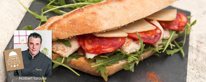 Sandwich La Croissanterie