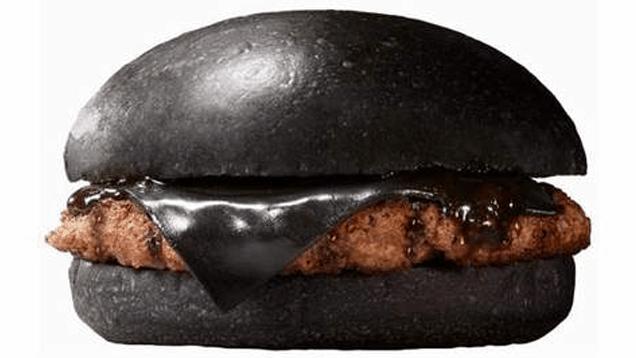 Burger King lance son burger noir au Japon