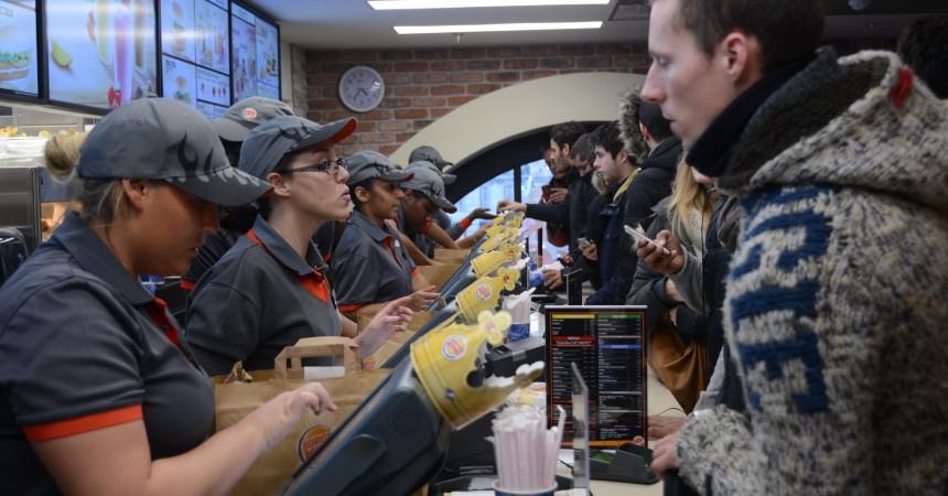 Ouverture Burger King La Défense